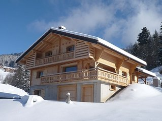 New chalet, comfortable