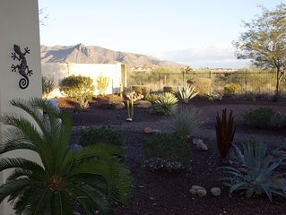 Verrado Home; large private backyard with mountain views and access to golf