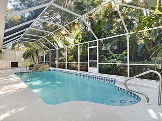 Beautifully renovated and centrally located vacation home with pool.