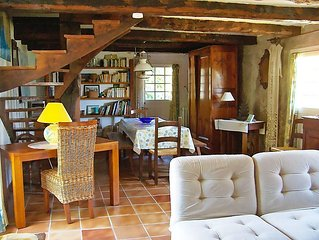 Vacation home Chaumiere Natelliou  in Tregunc, Brittany - Southern - 6 persons,