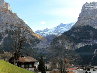 Apartment Chalet Albi  in Grindelwald, Bernese Oberland - 4 persons, 1 bedroom