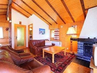 Vacation home Moulinettes No 8  in Crans - Montana, Valais - 6 persons, 3 bedro
