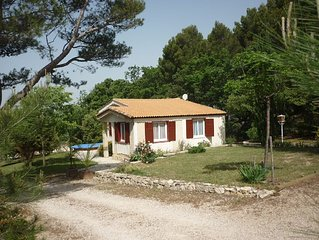 House with garden and Swimming pool - MALEMORT DU COMTAT
