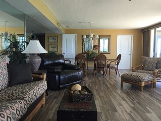 Newly Remodeled 2 Bedroom, 2 Bath Beach Front Condo with Amazing Views