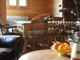 Spacious apartment in 1838 farmhouse.  Near la Clusaz & le Grand Bornand