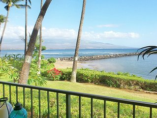 SPRING SPECIAL! SLEEPS UP TO 6 / 2BD/2B / MAUI Direct Oceanfront VIEWS !