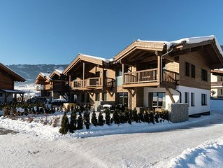 High-quality apartment with a spa close to Kaprun