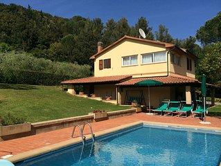 Riparbella Villa Fontespadini con piscina - Villa for 8 people in Riparbella