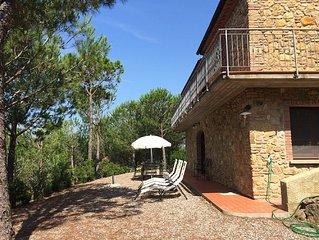 Riparbella La Pinetina 2 camere 2 bagni - Apartment for 7 people in Riparbella