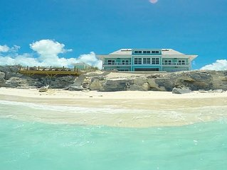 Spectacular New 6 Bedroom Home Located On Beautiful Private Beach