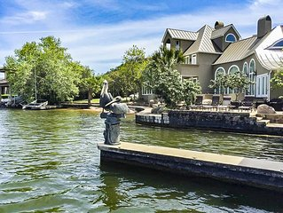 Premier,, Lake LBJ waterfront estate in Horseshoe Bay