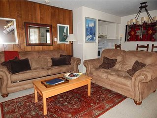Great 2 bedroom family rental with mountain themed decor and modern amenities