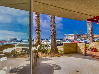 Ocean Front Condo #7 Studio, Sleeps 4: Pet Friendly