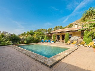 Finca La Panoramica - Cottage for 10 people in Alhaurin el Grande