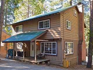 Happy Timers Cabin: 4 BR / 2 BA  in Shaver Lake, Sleeps 14