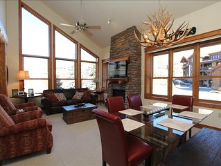 Luxurious Condo ski in/out.  Hot tub!  Walk to the slopes