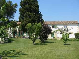Gite in Provencal farmhouse from the early eighteenth century