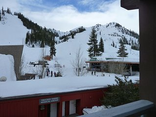 Ski in/Ski Out, 1 Bedroom Mountain View Condo at the Village at Squaw Valley.