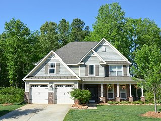 Beautiful & Spacious Raleigh Area Home