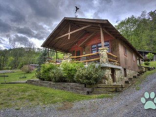 Nestled amongst Three Bear Holler; awesome views, privacy-Asheville, Waynesville