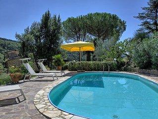 Villa in Greve In Chianti with 3 bedrooms sleeps 6