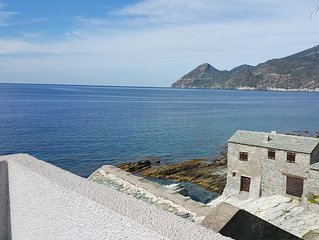 CAP CORSE, CANARI, charming house by the sea.