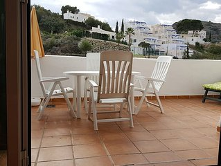 Beautiful 2 bedroom apartment, centrally located, Mojacar Playa. Communal pool