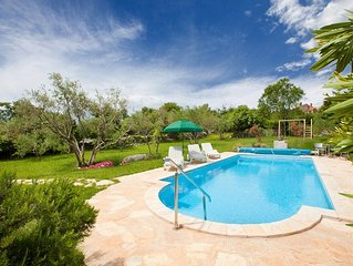 Beautiful Villa With Swimming Pool On Island Krk