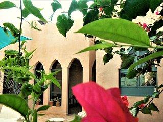 Belle villa,récente ,8  personnes, à 150 m de l' océan , quartier résidentiel