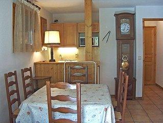 Ferienwohnung L'Hermine  in Les Houches, Savoyen - Hochsavoyen - 4 Personen, 2 S