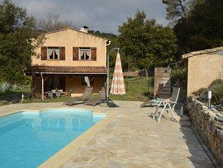 Villa auf 18000 m2 Grundstück Solar Pool  absolut Ruhig
