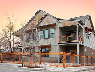 The Osprey House!  Brand New Salida Townhome on the river and close to town