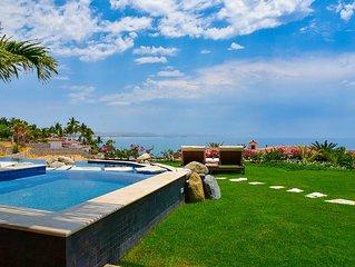 Club 96 included - Spectacular 4 Bedroom Oceanfront Villa in Palmilla