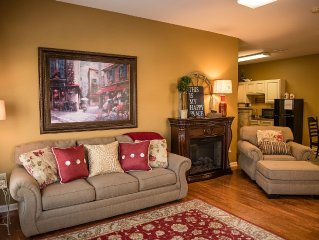 Great rates! Carriage House Suite, just outside the town of Intercourse