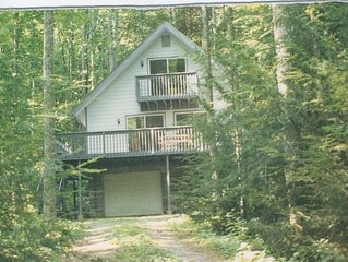 Modern cabin ideal for deep woods experience/retreat.