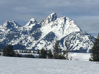 Best Location in Jackson Hole. Quiet but close to everything!