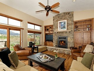 Nicely Appointed Custom Home, Ranch at Roaring Fork, incl 2 fishing badges  $395