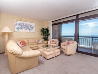 Fountainhead Towers offers oceanfront and bay views from 2 balconys