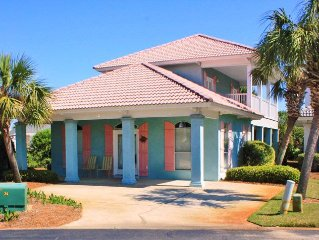 Fall Dates open! Short walk to beach. Gated community,access to 2 pools,Private