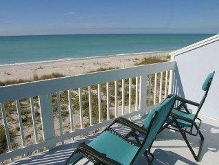 *Direct Beachfront, Pet Friendly, Renovated, Pool, Tennis, Dock, Kayaks, Bikes*