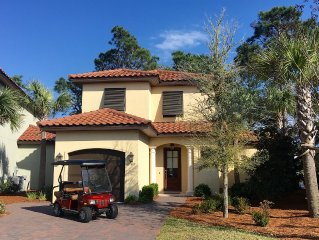 Villa Lago 1889~ Golf cart INCLUDED~ FREE TRAM & WIFI! ~ RESORT AMENITIES