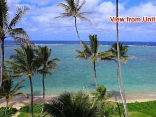 Beachfront/ocean view condo with 270 degree wrap around views!