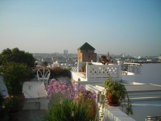 Riad in a picturesque area with a large sun terrace