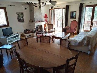 Bel appartement tout confort dans maison, calme, pres du lac et des thermes