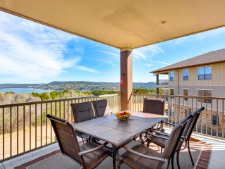 Hollows Resort Villa with Large Porch - Great Lake & Hill Country View