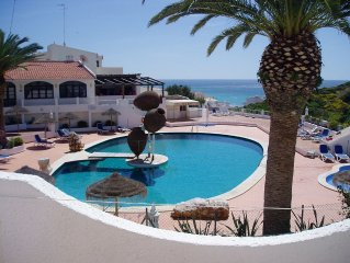 Salema Beach Club is a popular small holiday complex, apartment for 2/4 people