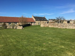 Fabulous barn conversion In Beadnell, Northumberland , close to the beach