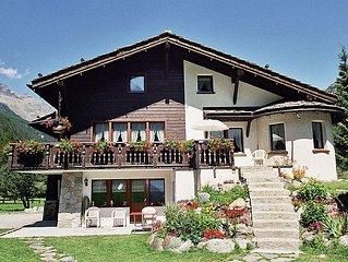Ferienwohnung Chalet Sunstar, grosse Wohnung  in Saas - Grund, Wallis - 8 Person