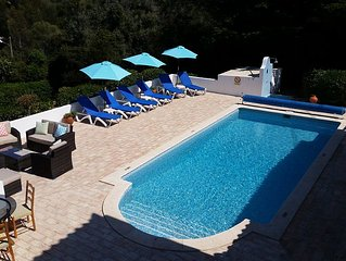 3 Bed, 2 Bath, Detached Family Owned Villa, Private Heated Swimming Pool & Wi-Fi