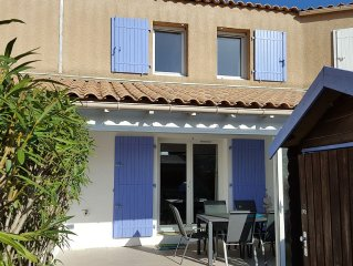 Holiday house in Portiragnes-Plage, Resid. with swimming pool, 500 m from the b